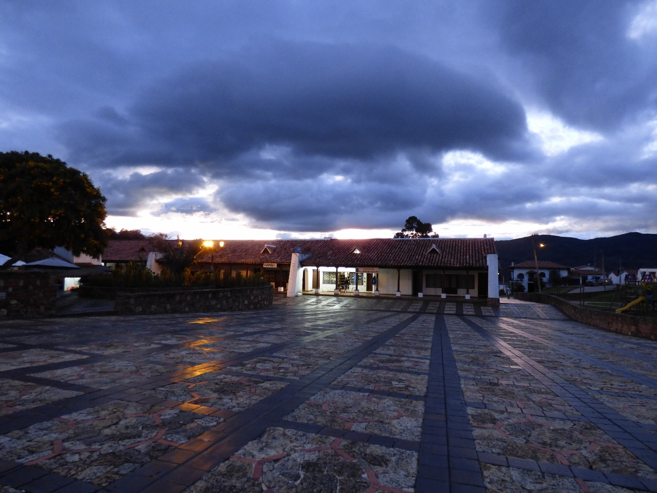 Plaza en Guatavita - Cundinamarca. Foto: David Medina