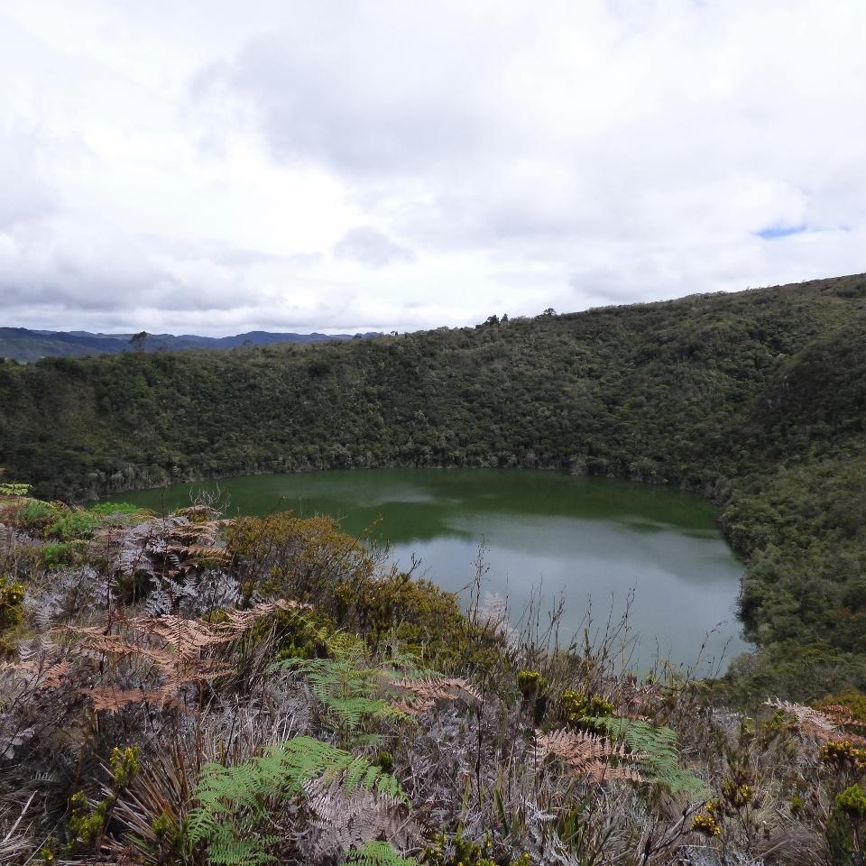 Laguna de Guatavita - Cundinamarca. Foto: David Medina