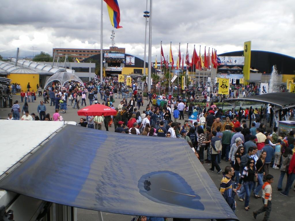 Feria del Libro - Corferias - Bogotá. Foto: David Medina