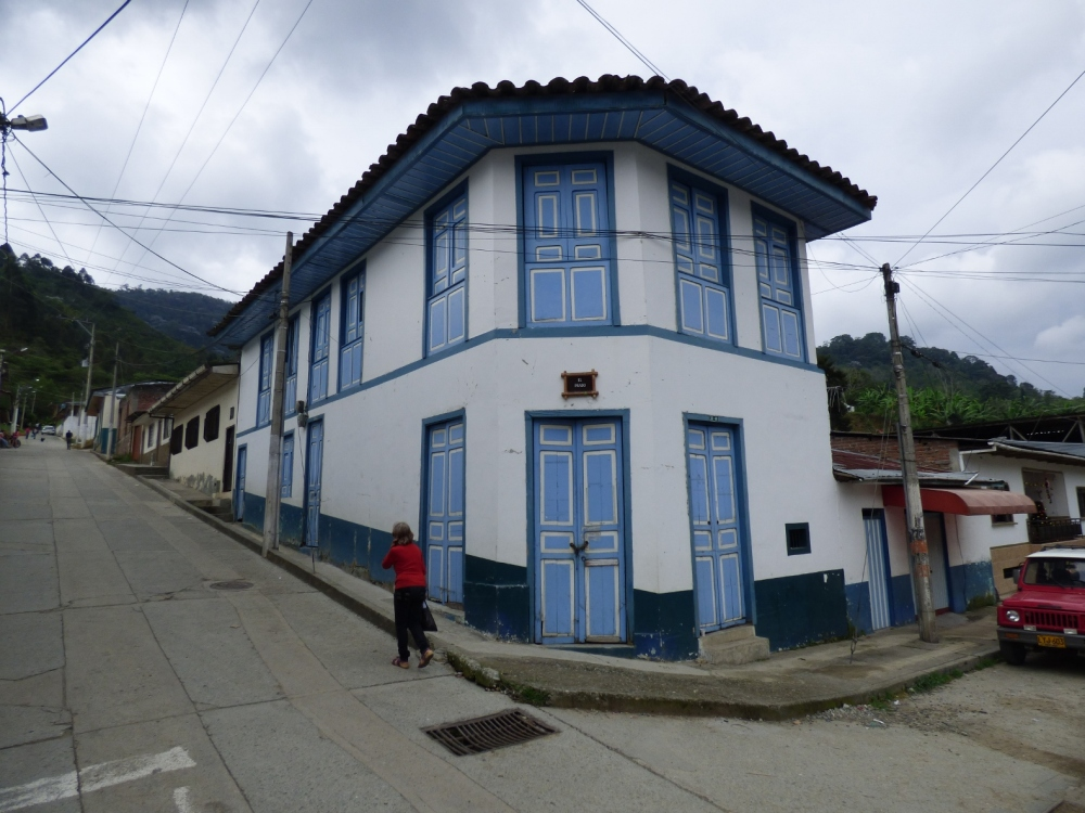 Arquitectura tradicional en Pijao - Quindío. Foto: David Medina