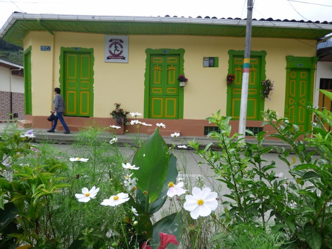 Casas coloridas y naturaleza en Pijao - Quindío. Foto: David Medina