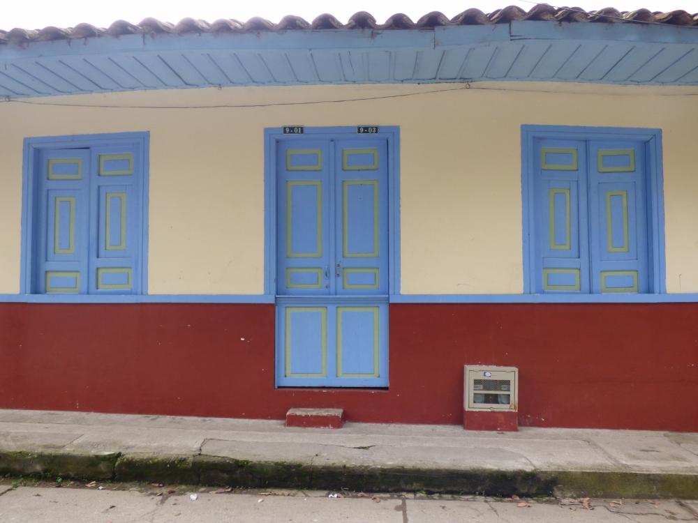 Casas con arquitectura tradicional - Pijao - Quindío. Foto: David Medina