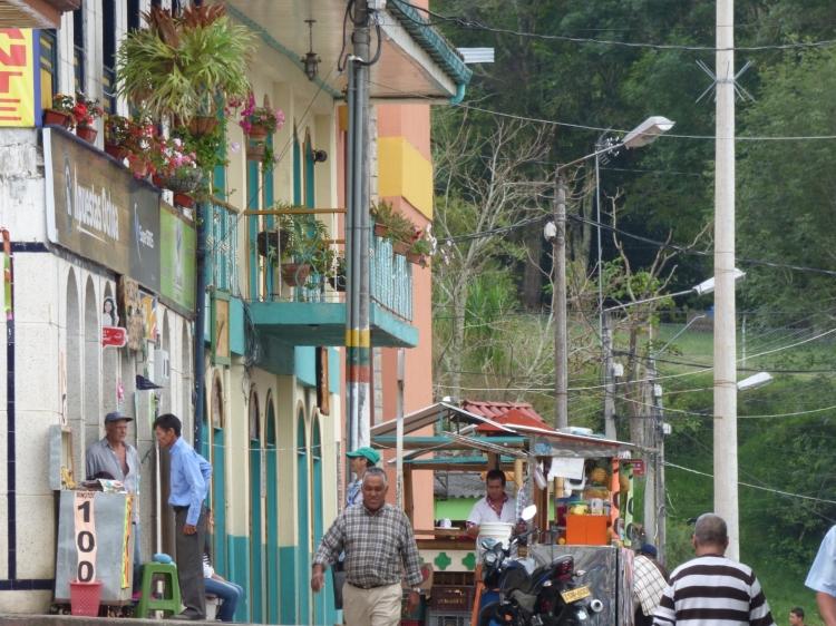 La gente en el día a día en Pijao - Quindío. Foto: David Medina