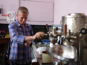La maquina de café mas antigua de departamento - Pijao - Quindío. Foto: David Medina
