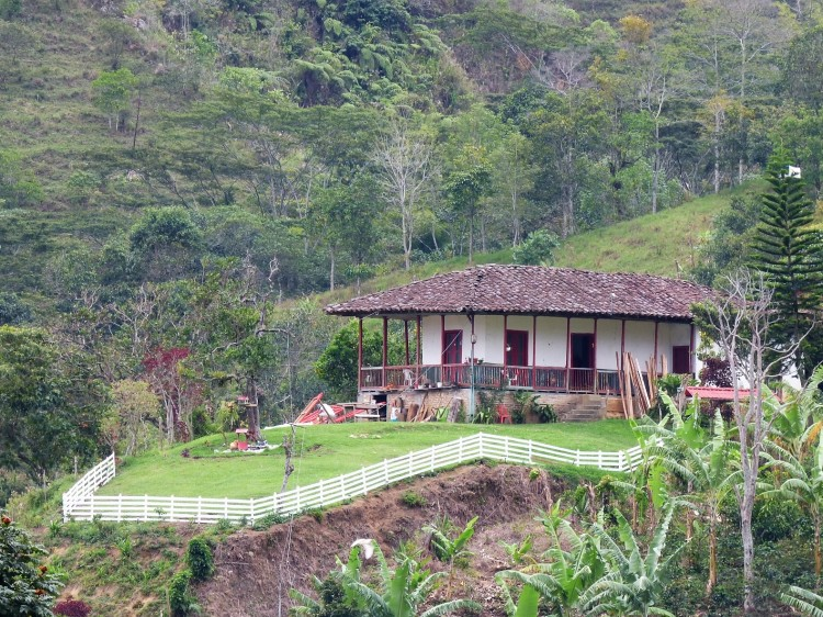 Casa tradicional campesina - Pijao - Quindío. Foto: David Medina