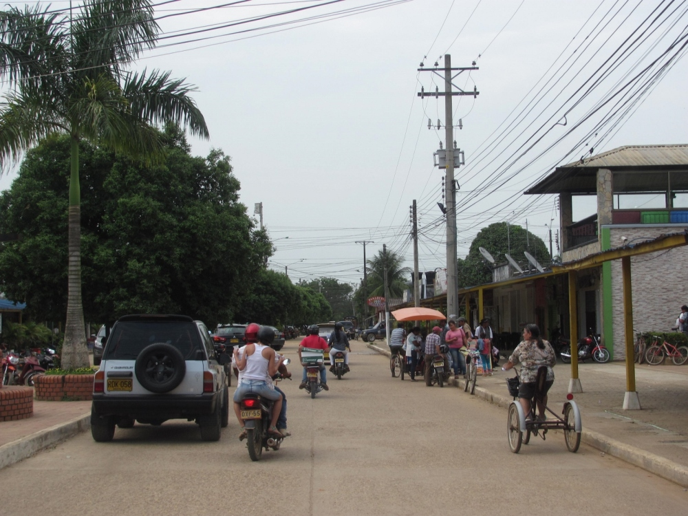 Calles en San José del Guaviare. Foto: David Medina