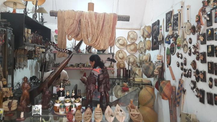 Artesanías - San Jose del Guaviare. Foto: David Medina