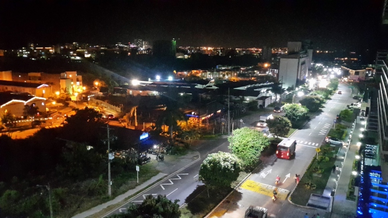 Armenia Nocturna zona norte. Foto: David Medina