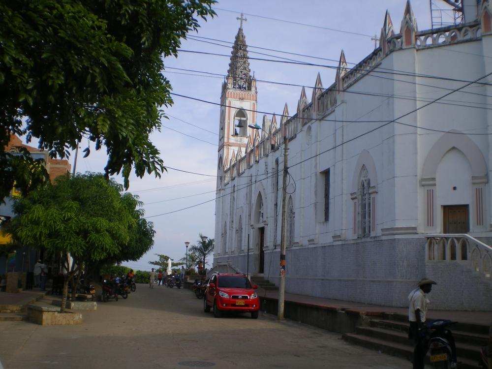 Catedral San Jerónimo de Ayapel - Córdoba. Foto: David Medina