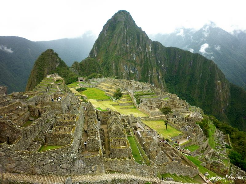 Machu PIcchu - Perú. Foto: Natalia Méndez