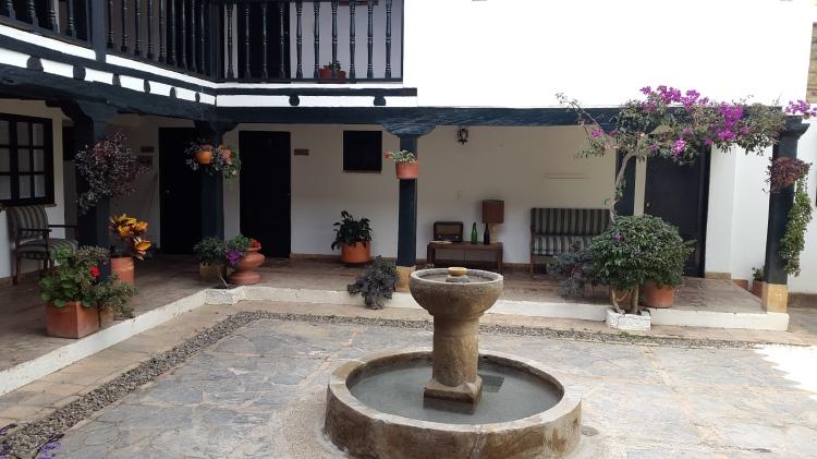 Patios tradicionales en Villa de Leyva - Boyacá - Colombia Foto: David Medina