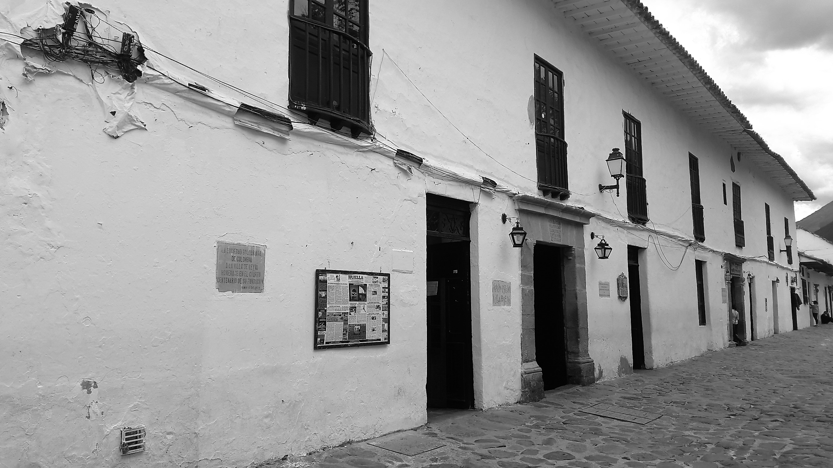 Construcciones de Arquitectura colonial en Villa de Leyva - Boyacá - Colombia Foto: David Medina