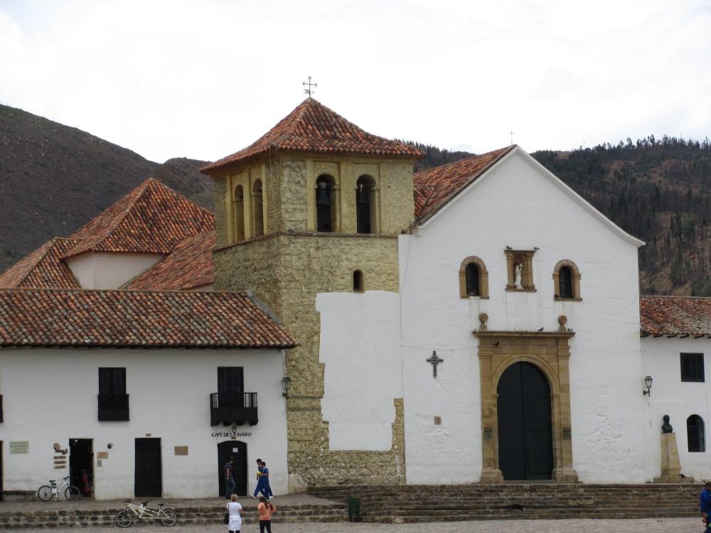 Iglesia principal en Villa de Leyva - Boyacá - Colombia Foto: David Medina