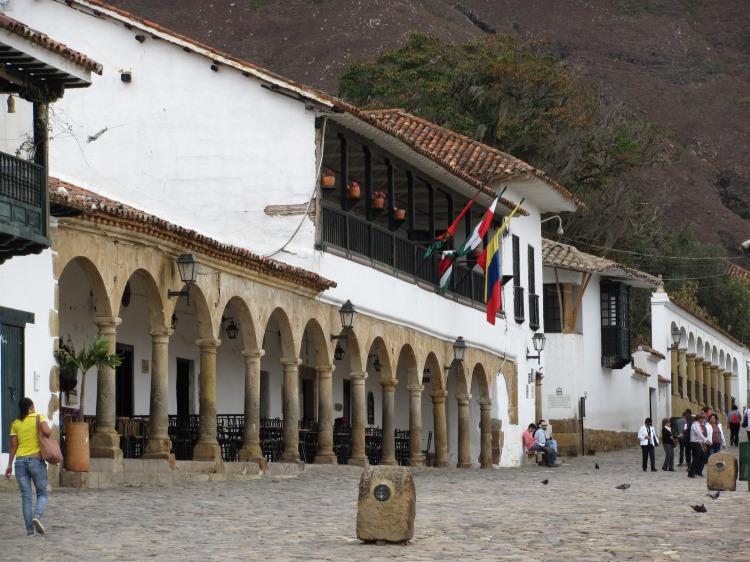 Plaza principal en Villa de Leyva - Boyacá - Colombia Foto: David Medina