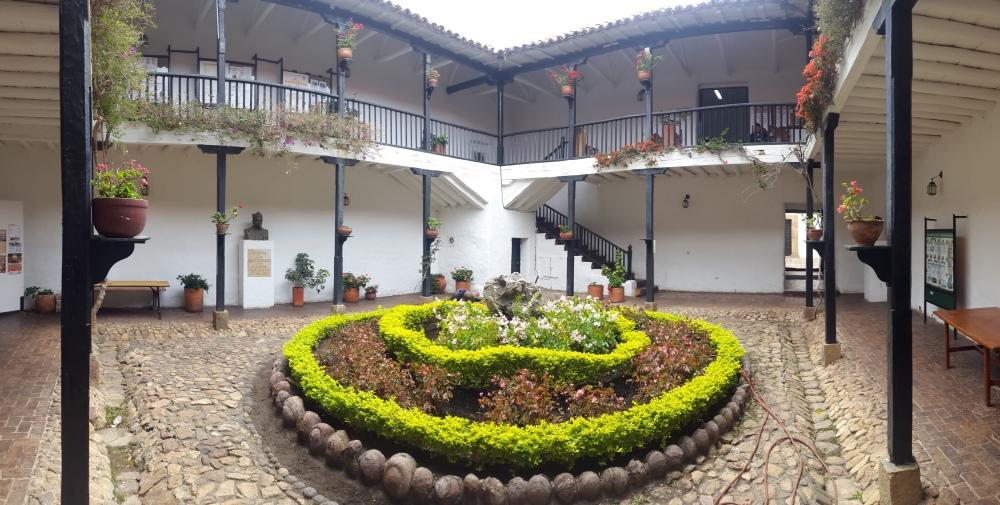 Interior Alcaldía Municipal Villa de Leyva - Boyacá - Colombia Foto: David Medina